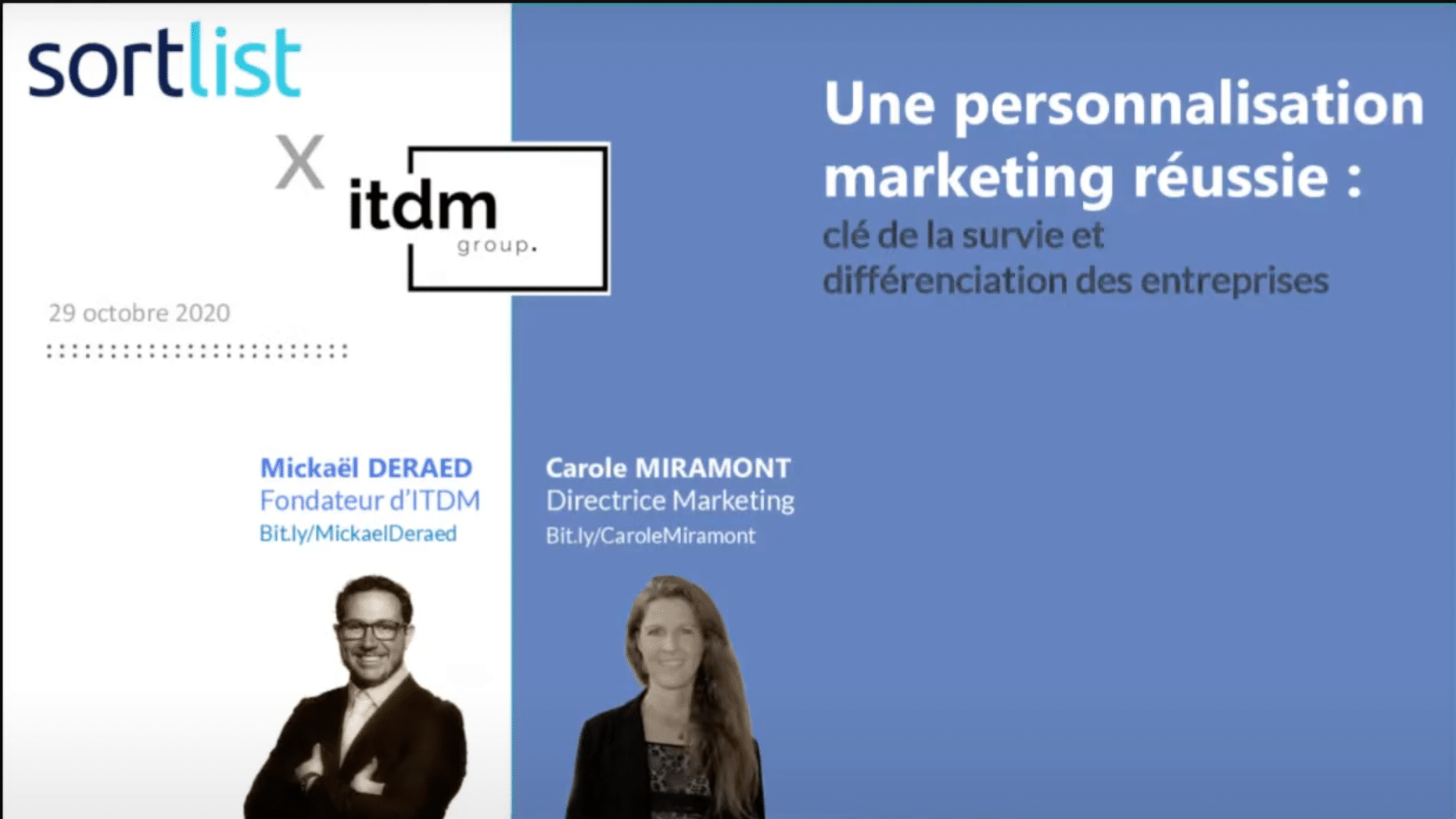 webinar personnalisation marketing