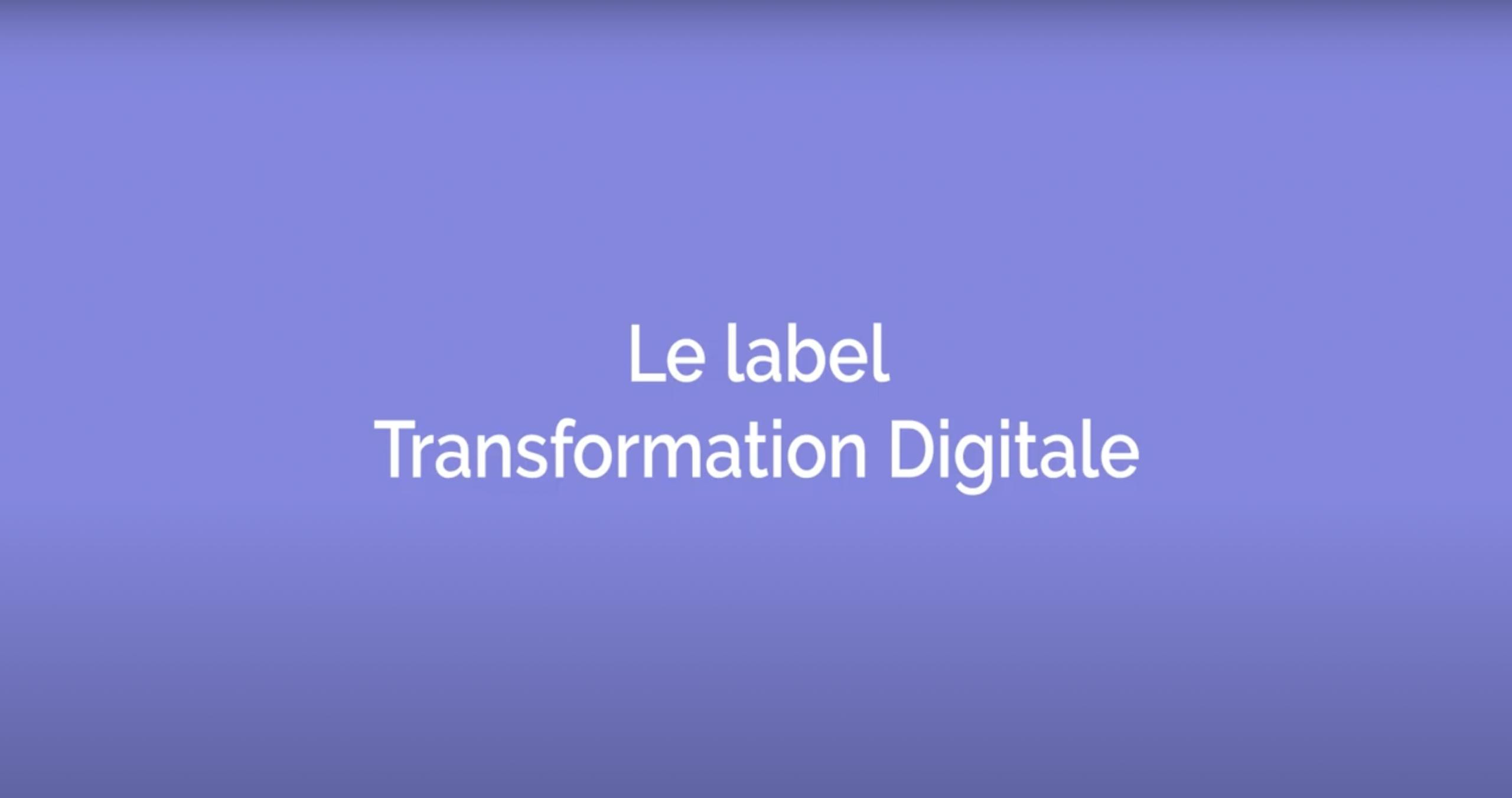 LABEL Transformation Digitale ITDM GROUP Agence digitale Mulhouse